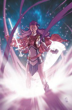 Comic Book Artists, Comic Books Art, Comic Art, Psylocke, Marvel Comics, Kitty Pryde, Beauty In Art, Female Hero, Marvel Women