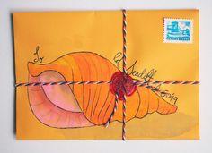 Seaside snail mail