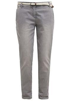 Kangashousut - pearl grey