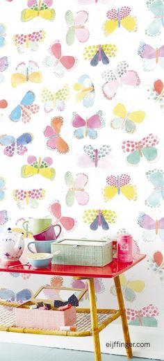 25 Colorful Wallpaper ideas for Interior Design
