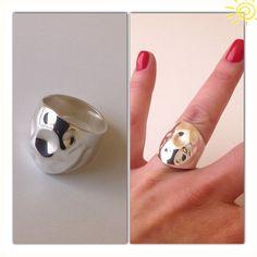 Anel Chevalier Martelinho de Ouro Wax Ring, Jewelry Model, Contemporary Jewellery, Stone Jewelry, Jewelery, Creations, Artisan, Gemstone Rings, Silver Rings