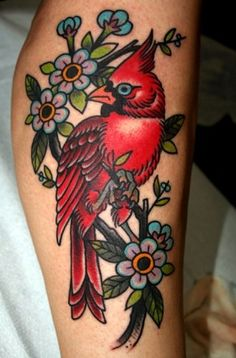 Bart Bingham Tattoos - I love tattoo art so much, and cardinals