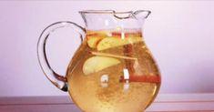 Água de maçã canela e limão - ela é incrível para perder peso