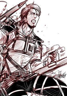 Attack On Titan Jean, Attack On Titan Anime, Horse Face, Need A Hug, Love Jeans, Dear God, Alter, Pretty Boys, Memes