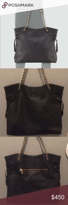 Tory Burch Slouchy Tote Great condition inside and out! Comes with dust bag. Tory Burch Bags Totes