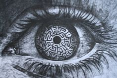 The labyrinth in your eyes