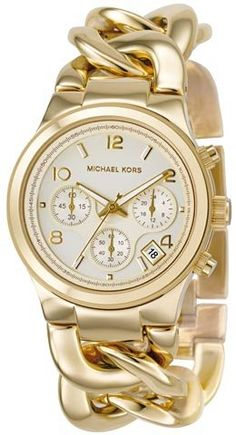 Michael Kors Quartz Gold Link Watch