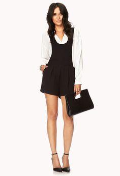 Modernist Overall Shorts | FOREVER21 $22.80