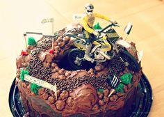 Dirt Bike Cake Party DIY Homemade