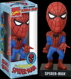 Spiderman Wacky Wobbler from Just a Touch of Everything