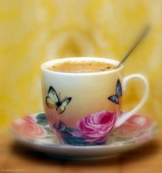 Beautiful Morning Coffee