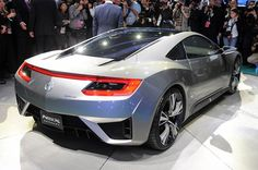 2016 Acura NSX Specs