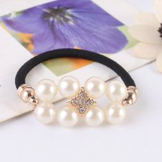 Now available on our store http://www.feeloos.com/products/elastic-hair-band-free-shipping-beautiful-new-fashion-double-pearl-bracelet-rubber-band-hair-ring-hair-rope-jewelry-1786585?utm_campaign=social_autopilot&utm_source=pin&utm_medium=pin