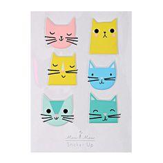 Cat Stickers - Meri Meri
