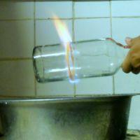 Couper une bouteille en verre