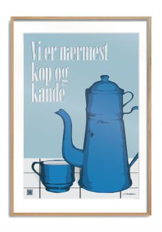 Kop og kande - Citatplakat.dk