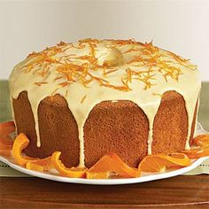 Pastel esponja de naranja                                                                                                                                                                                 Más