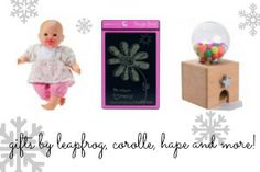 The holiday season is one of our favorite times of year and usually the busiest one too. At tada! shop, we know that finding just the right gift can be a ch… Holiday Gift Guide, Holiday Gifts, Top Toys, Baby Center, Turning, Place Card Holders, Cakes, Gift Ideas, Frame