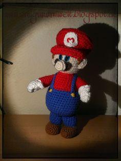 Amigurumi häkeln Mario kostenlos free crochet nintendo übersetzung