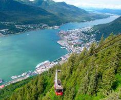 Mt. Roberts Tramway above Juneau.