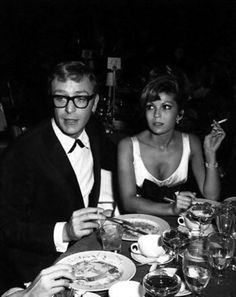 Michael Caine and Nancy Sinatra. LOVE IT