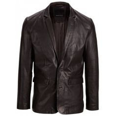 Selected Sean Leather Blazer From W Glendinning and Son