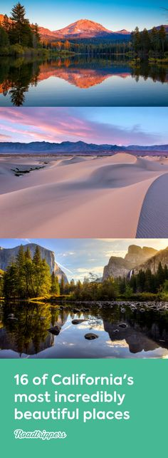 Forests, mountains, deserts, and more