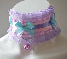 ddlg collar  Princess Isabelle  pastel victorian alternative