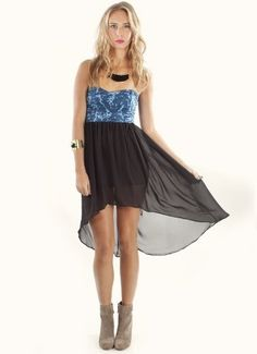 Motel  Motel Strapless Chica Dress in Foil Blue  Be the first to review this item  Price: $95.00 -- http://www.amazon.com/Motel-Strapless-Chica-Dress-Small/dp/B009B13G32/?tag=weilos078-20