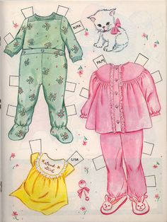 Baby Album- page 4* The International Paper Doll Society by Arielle Gabriel for all paper doll and paper toy lovers. Mattel, DIsney, Betsy McCall, etc. Join me at #ArtrA, #QuanYin5 Linked In QuanYin5 YouTube QuanYin5!