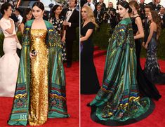 Fan Bingbing In Chris by Christopher Bu - 2015 Met Gala. I could never have an occasion to even attempt to dress like this, but it's too gorgeous not to pin.