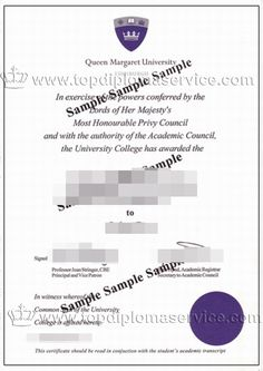 Buy University of the West of Scotland degree certificate. http ...