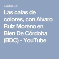 Las calas de colores, con Alvaro Ruiz Moreno en Bien De Córdoba (BDC) - YouTube