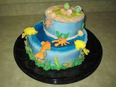Beach Theme Cake Baby Shower
