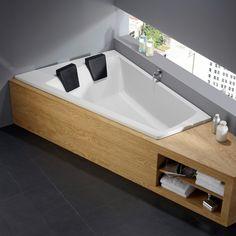 Repabad Genf Duo right corner bath