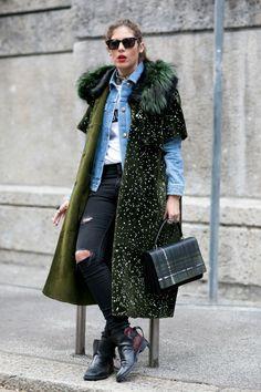 Street Style Milan Milano str RF15 6627