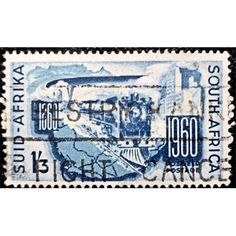 South Africa, Train, Railway, 1860-1960 Centenary 1960