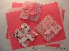 Origami Folhas de Arte: Convite para Festa