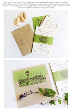 グリーンがテーマの招待状とウエディングカード  | Weddingcard.jp
