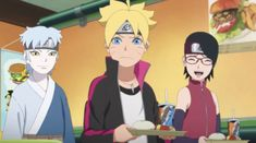 Boruto And Sarada, Naruto Sasuke Sakura, Anime Naruto, Boruto Naruto Next Generations, Team 7, Sci Fi, Comics, Organizations, Fictional Characters