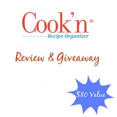 Cook'n Recipe Organizer Review & Giveaway - Unconventional Mommy Tails