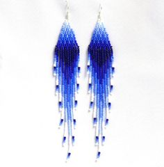Native American Beaded Earrings inspired. Extra by EudoraStyle