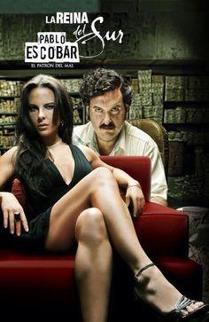 La Reina y Pablo Escobar.......