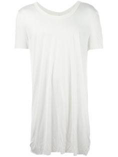 RICK OWENS Scoop Neck T-Shirt. #rickowens #cloth #t-shirt
