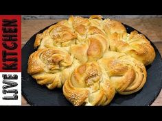 Greek Recipes, Apple Pie, Bakery, Recipies, Food And Drink, Bread, Desserts, Feta, Youtube