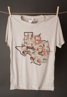 This tee describes Texas to a T! Great souvenir shirt or for the avid Texan! All tees are made from high quality merchandise. See size chart before ordering.