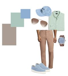 """Soft colors"" by ninafuntik on Polyvore featuring J.Crew, Jack Spade, Bottega Veneta, Diesel, Tom Ford, Calvin Klein Jeans, men's fashion and menswear"