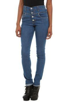 Judy Blue High-Waisted Blue Denim Skinny Jeans
