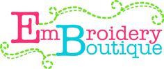 Embroidery Boutique - gorgeous applique designs!