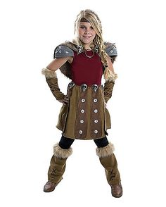 How to Train Your Dragon 2 Astrid Child Costume - Spirithalloween.com